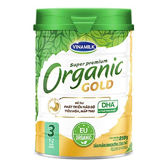Sữa Bột Vinamilk Organic Gold Step 3 (850g / Hộp Thiếc)