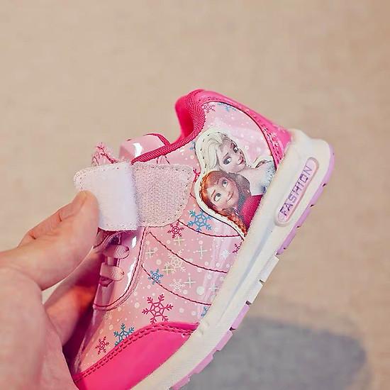 Giày Thể Thao Công Chúa Elsa Hồng G33