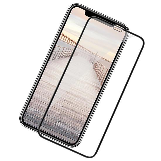 Kính cường lực 9D cao cấp dành cho iPhone XS MAX - Màu đen