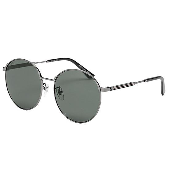 b524b3e8716 GUCCI Gucci eyewear men and women sunglasses neutral retro round frame  sunglasses GG0206SK-004 gold frame gradient orange lens 58mm