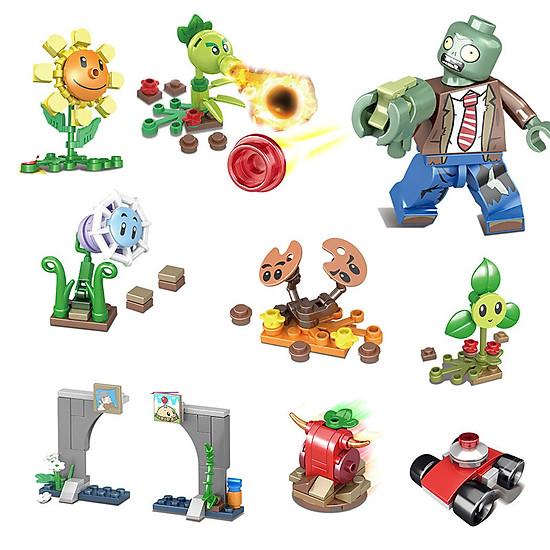 Bộ đồ chơi lắp ghép hình Plants & Zombies