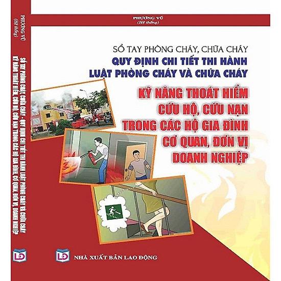 Hình đại diện sản phẩm Sổ tay phòng cháy chữa cháy -quy định chi tiết thi hành luật phòng cháy chữa cháy