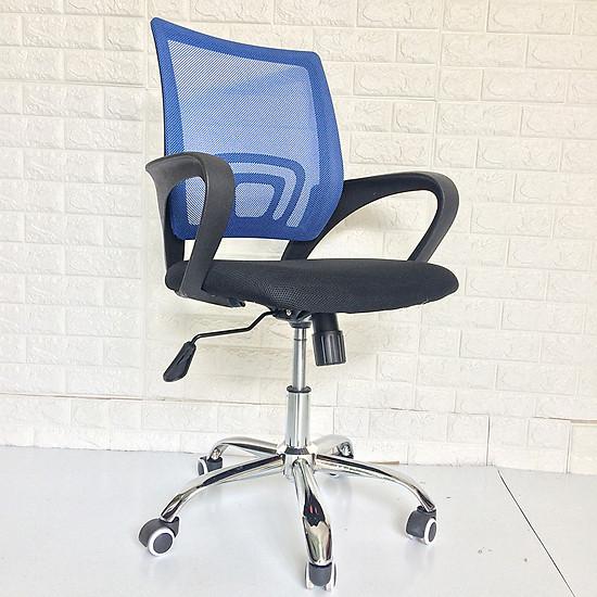 Ghế làm việc - Ghế xoay văn phòng BOX405-BLUE