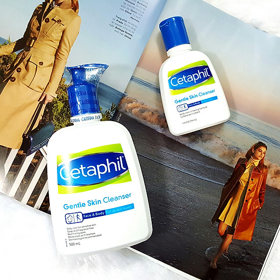 Sữa Rửa Mặt Cetaphil Gentle Skin Cleaner (500ml)