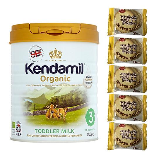 Sữa Nguyên kem công thức hữu cơ KENDAMIL ORGANNIC số 3: ORGANIC TODDLER MILK (800G) ( cho