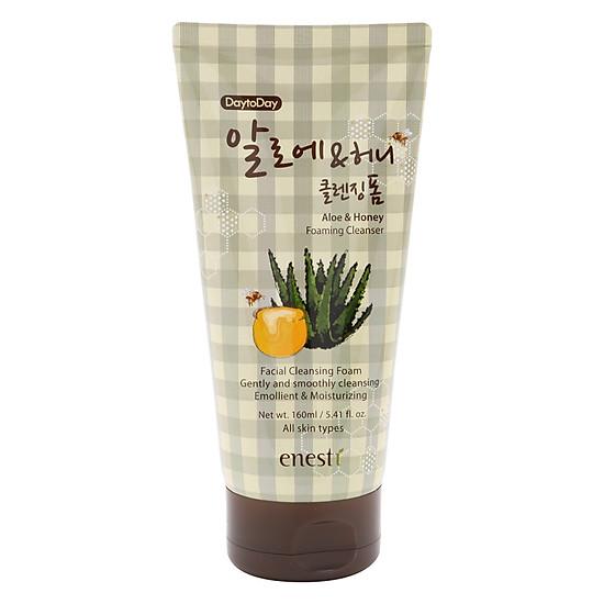 Sữa rửa mặt Enesti Aloe & Honey Daytoday Foaming Cleanser