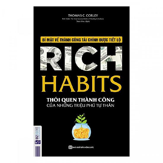 Rich Habits – Thói Quen Thành Công Của Những Triệu Phú Tự Thân