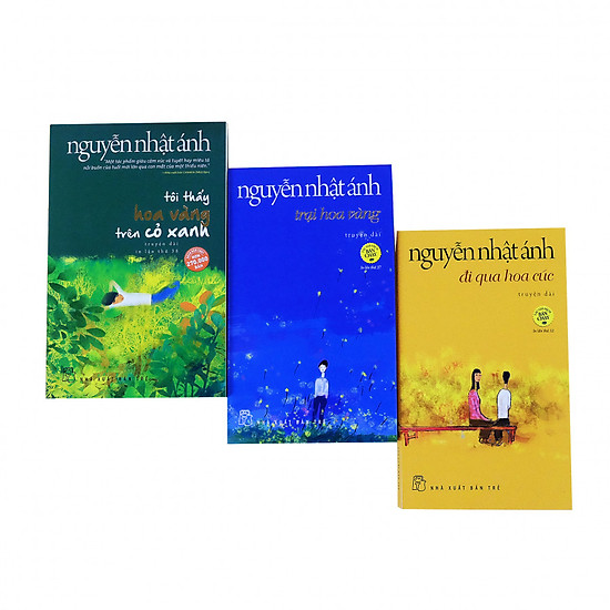 Combo Nguyễn Nhật Ánh chọn lọc: Tôi thấy hoa vàng trên cỏ xanh - Trại hoa vàng - Đi qua hoa cúc
