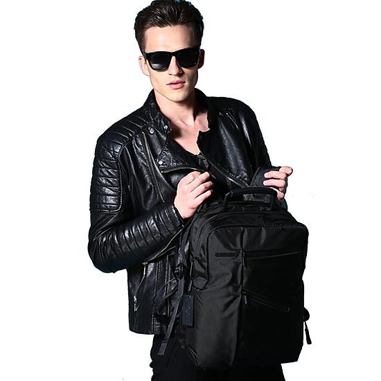 France LEXON Business casual waterproof 14 inch laptop backpack LN654N4 c708090ddac5a