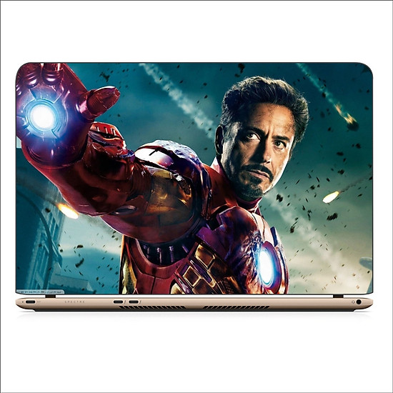 Miếng Dán Skin In Decal Dành Cho Laptop - Iron man 4