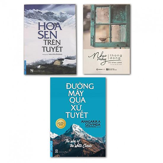 Combo Hoa Sen Trên Tuyết, Đường Mây Qua Xứ Tuyết và Như Mây Thong Dong