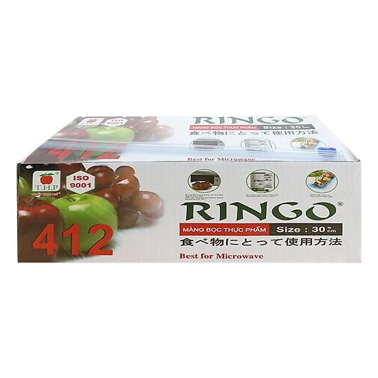 Hình đại diện sản phẩm Màng Bọc Thực Phẩm Ringo PVC ST412SC 8936009561315 (30cm x 300m)