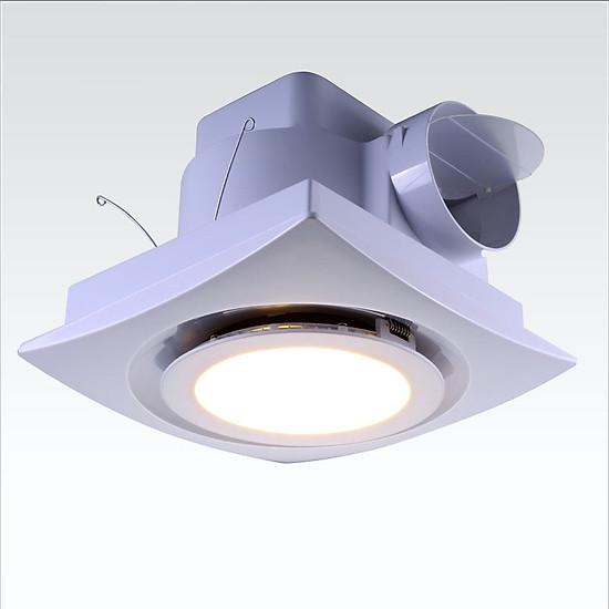 Kết quả hình ảnh cho Quạt thông gió âm trần có đèn LED Lavfill 12DL tiki