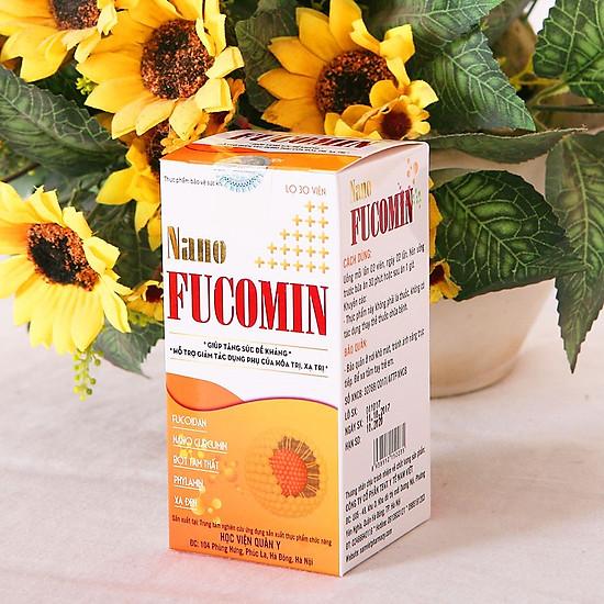 Thực phẩm chức năng Nano Fucomin Học Viện Quân Y