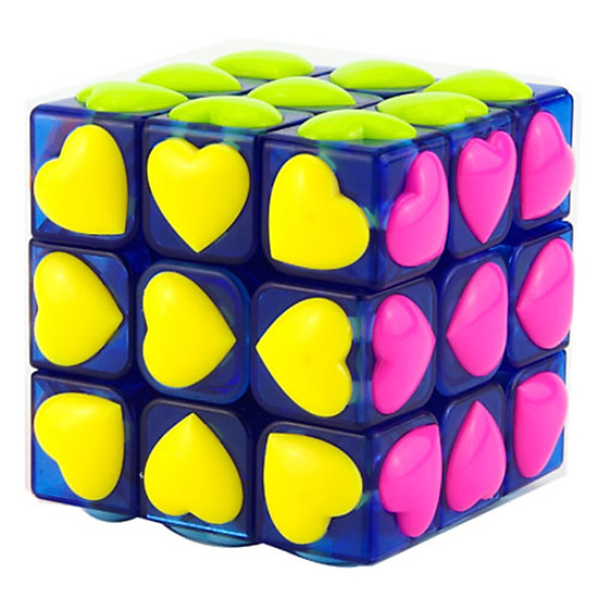 Đồ chơi Rubik YJ Heart Tiled 3x3x3