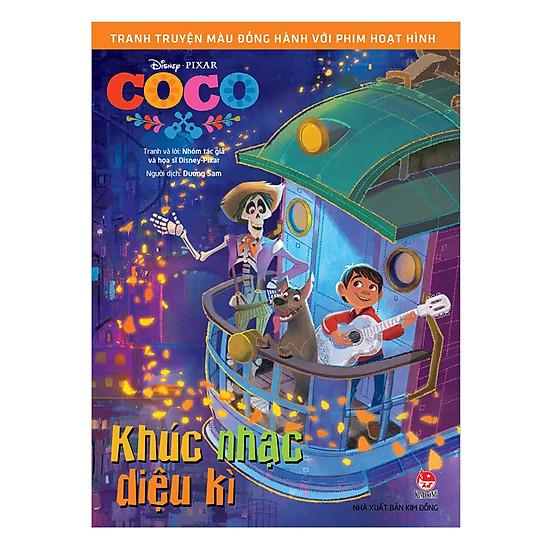 Tranh Truyện Màu Đồng Hành Cùng Phim Hoạt Hình: Coco – Khúc Nhạc Kì Diệu