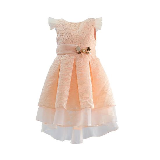 Đầm ren cam mullet