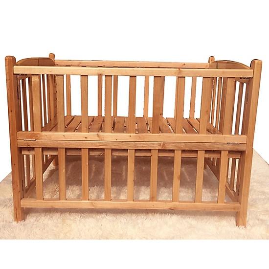 Cũi giường gỗ Quế mộc GoldCat – Kích thước 70×110  (MSP: C11A)