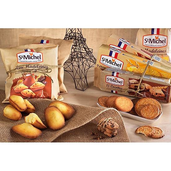 Kết quả hình ảnh cho Bánh cake St Michel Mini Madeleines 175g