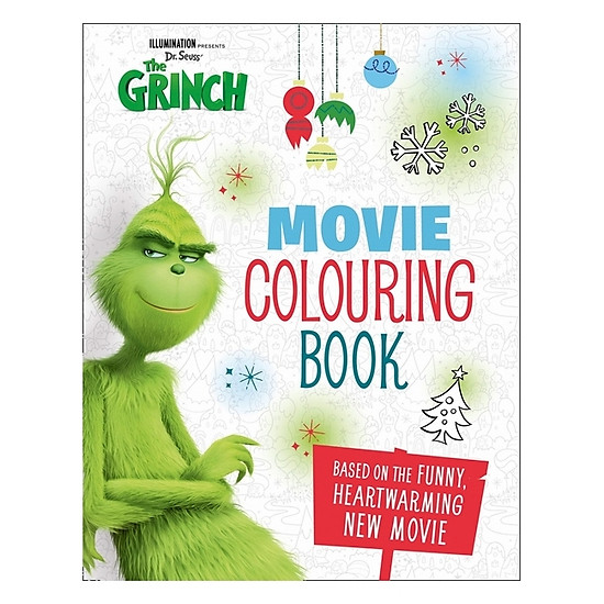 Hình đại diện sản phẩm The Grinch: Movie Colouring Book: Movie Tie-in