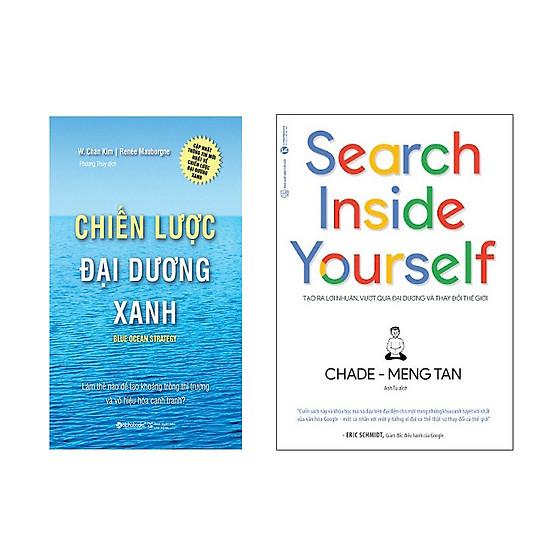 Hình đại diện sản phẩm Combo Sách Chiến Lược Đại Dương Xanh và Search Inside Yourself - Tạo Ra Lợi Nhuận Vượt Qua Đại Dương Và Thay Đổi Thế Giới