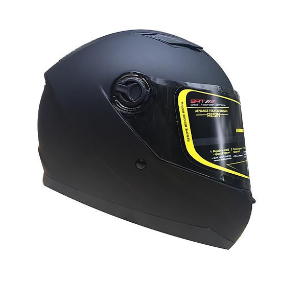 Mũ bảo hiểm Fullface Asia MT136 (Size L) - Đen nhám=339.000 ₫