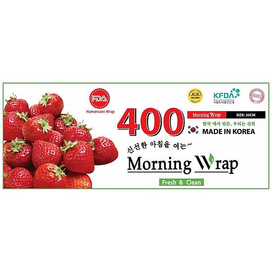 Màng bọc thực phẩm PVC Morning Wrap Dâu 400 (30cmx250m)
