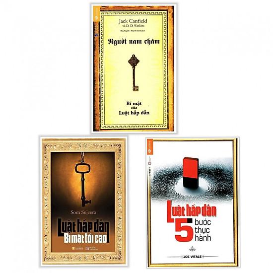 Combo Luật Hấp Dẫn: Người Nam Châm – Bí Mật Của Luật Hấp Dẫn (Tái Bản) + Luật Hấp Dẫn – 5