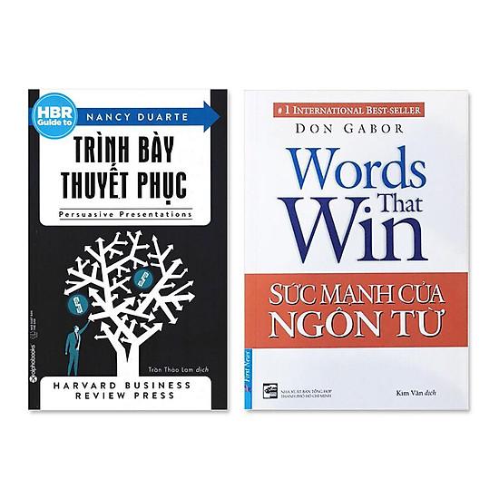 Combo 2 cuốn: Sức Mạnh Của Ngôn Từ, HBR Guide To – Trình Bày Thuyết Phục