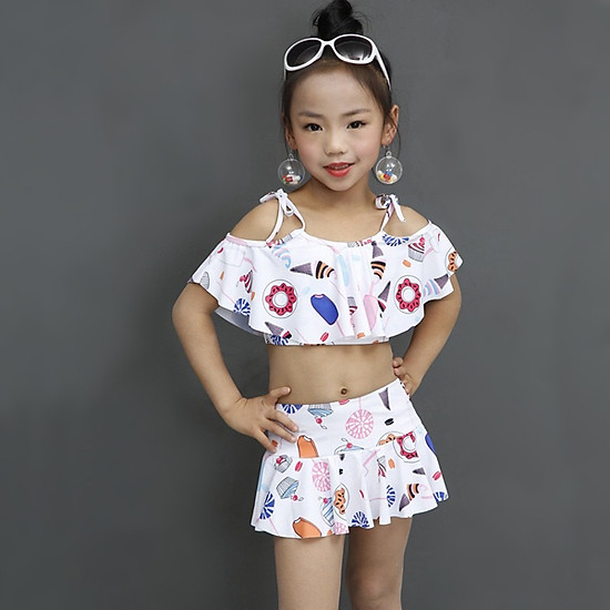 Bộ Bikini bèo cho bé gái AB50620-BGB