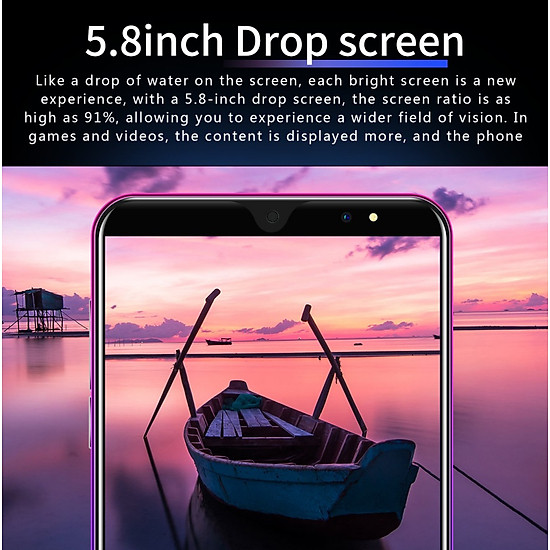 5.8Inches P33Pro Smart Mobile Phone 4G+64G Android 8.1 Air Distance Gesture Bluetooth 2.0 Phone - red - European regulations-1