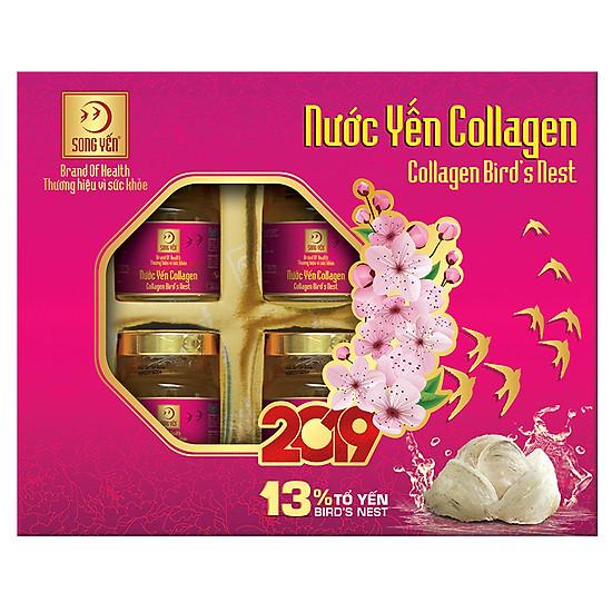 Nước Yến Collagen Song Yến - NYC6 (Lốc 6x70ml) = 328.000 ₫