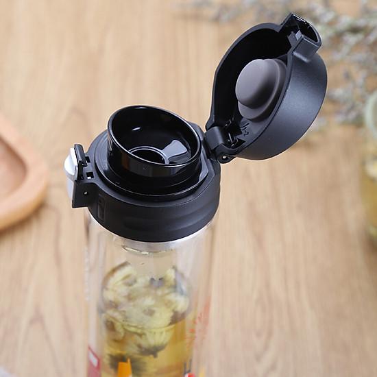 Lock & Lock (LOCK & LOCK) Teacup Glass Cup Double Glass 350ml Italian Style LLG663CRM-1
