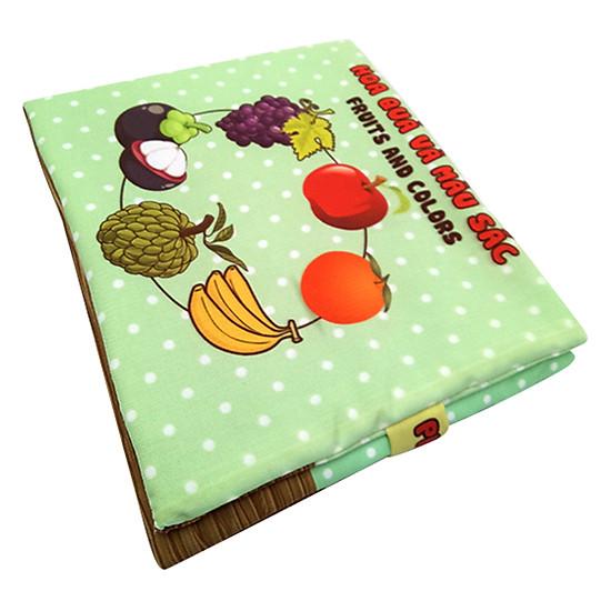 Sách Vải Trẻ Em Pipovietnam Hoa Quả