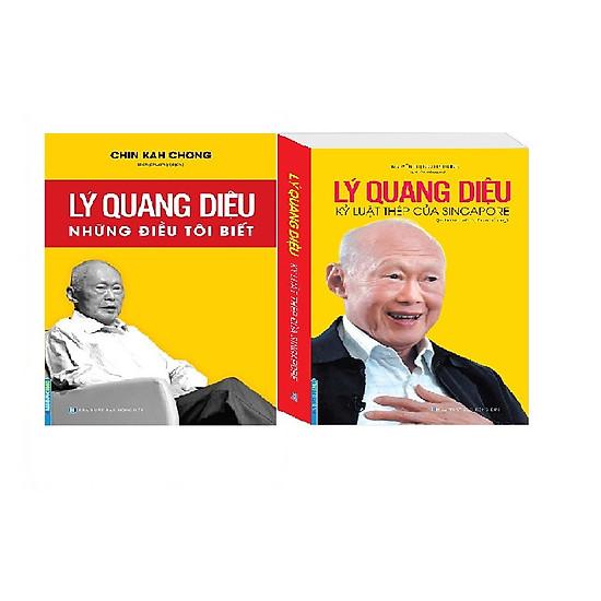 Combo Lý Quang Diệu – Những Điều Tôi Biết + Lý Quang Diệu Kỷ Luật Thép Của Singapore (Kin