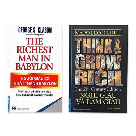 Combo: Người giàu có nhất thành Babylon, Nghĩ giàu và làm giàu