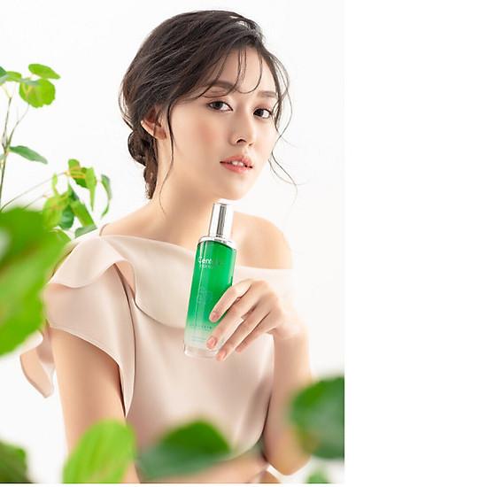 Nước hoa hồng toner trị mụn kháng khuẩn chiết xuất thảo dược Beauskin Hàn quốc (120ml) và 1 son majune