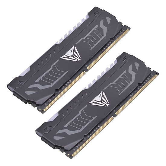 Bộ 2 Thanh RAM PC Patriot VIPER 8GB DDR4 3000mHz RED LED - Hàng Chính Hãng