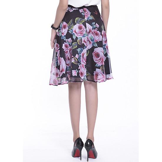 Chân Váy Nữ Rosy Belle CV571 - Đen