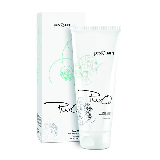 postQuam - Mặt nạ giúp giảm mụn, điều tiết dầu & phục hồi thương tổn do mụn - 200ml