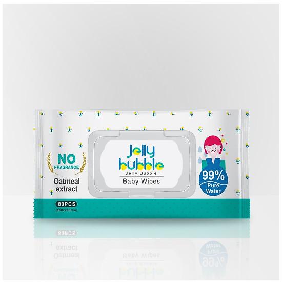 Khăn giấy ướt Jelly Bubble – 80 Tấm
