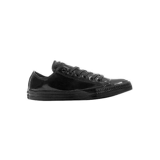 40b338994dd Giày Sneaker Nữ Converse 553271C Chuck Taylor All Star Metallic Rubber OX - Black  Pearl