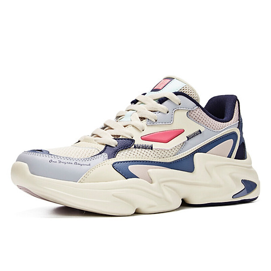 Giày Sneaker 361° 671936786-3 Phối Màu Retro Cá Tính Cho Nam (41) - Beige / Urban Pink-0