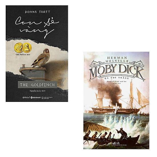 Combo Con Sẻ Vàng + Moby Dick Cá Voi Trắng
