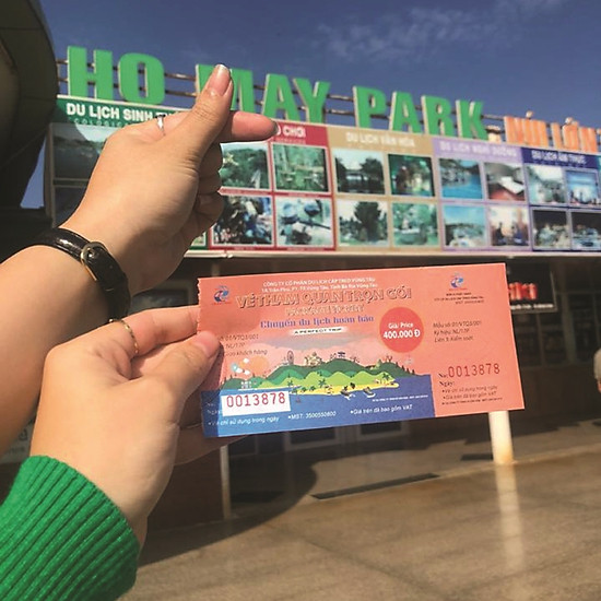 Vé tham quan vui chơi trọn gói - Hồ Mây Park - Vũng Tàu
