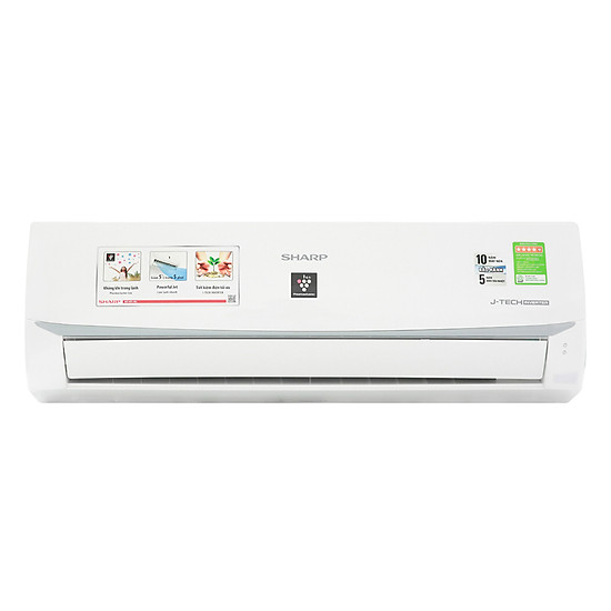 Máy lạnh Inverter Sharp AH-XP10WMW (1.0HP) - Hàng Chính Hãng = 6.969.000đ