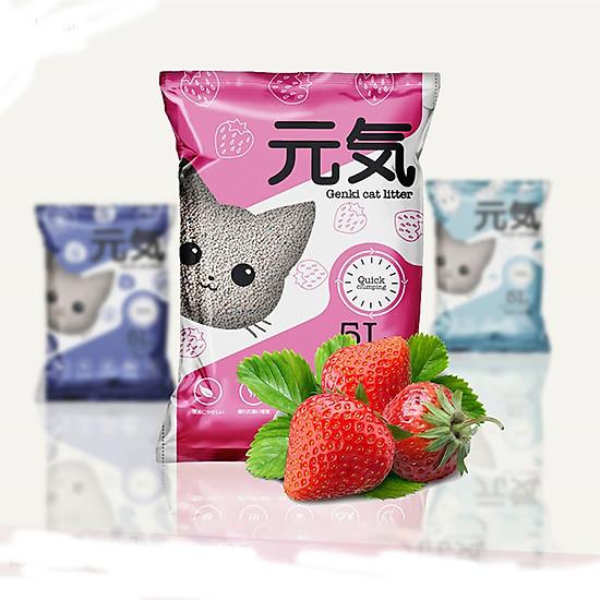Cát vệ sinh cho mèo Genki 5L