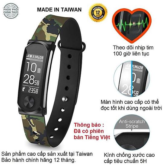 Vòng tay thông minh, đo nhịp tim cao cấp I-gotU Q68HR TAIWAN New