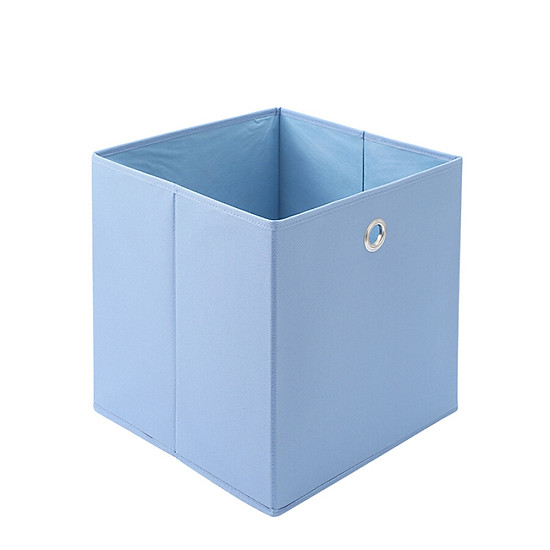 Hình đại diện sản phẩm Jia Hao storage box simple series Oxford cloth multi-function square storage box 03201206 light blue 300mm*300mm*300mm