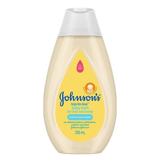 Sữa tắm gội toàn thân Johnson's Baby (200ml)